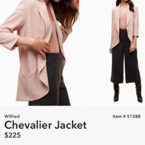 """Wilfred Aritzia pink relaxed blazer """"chevalier"""""""